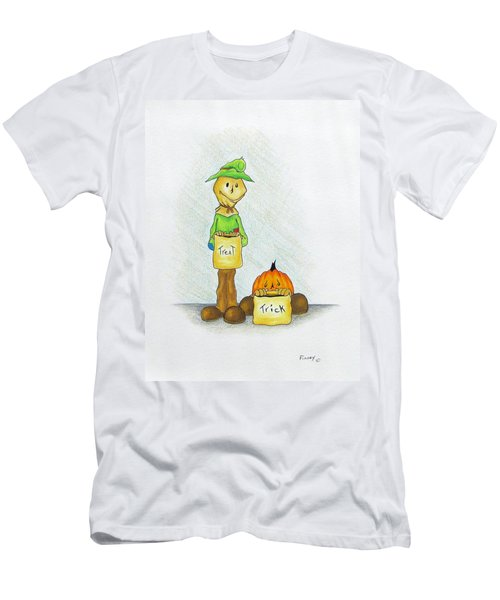 Baggs And Boo Treat Or Trick Men's T-Shirt (Athletic Fit)
