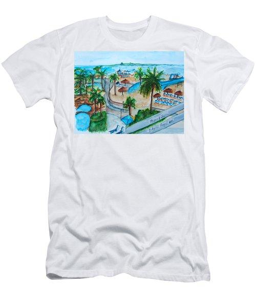 Bahamas Balcony Men's T-Shirt (Athletic Fit)