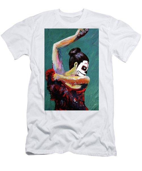 Bailan De Los Muertos Men's T-Shirt (Athletic Fit)