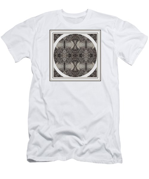 Balance Expressed In Black And White Men's T-Shirt (Slim Fit) by Jack Dillhunt
