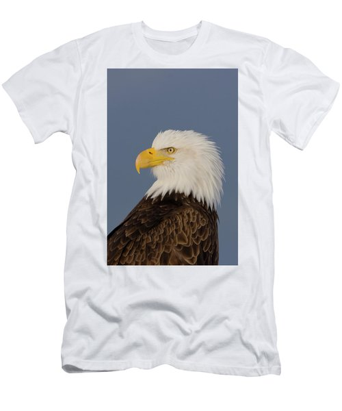 Bald Eagle Portrait Men's T-Shirt (Athletic Fit)