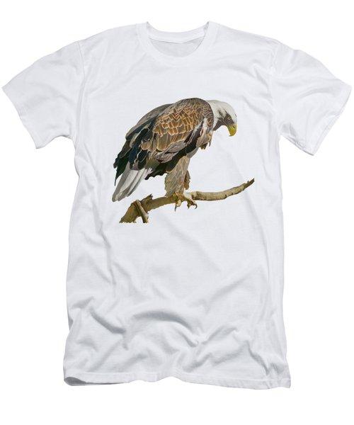 Bald Eagle - Transparent Men's T-Shirt (Athletic Fit)
