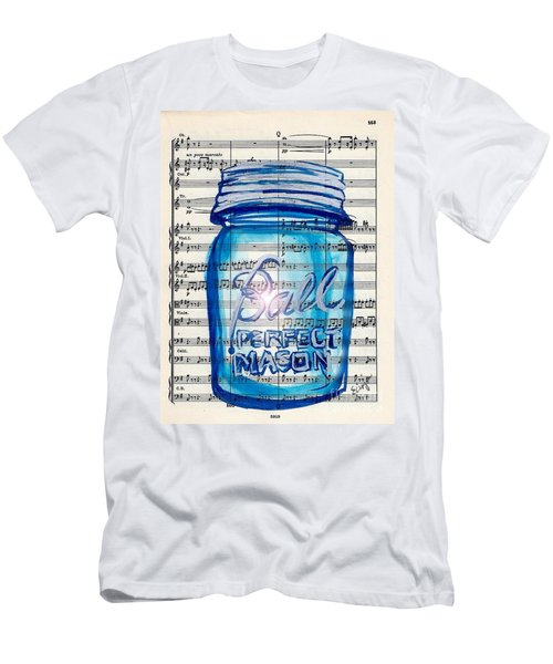 Ball Mason Jar Classical #168 Men's T-Shirt (Athletic Fit)