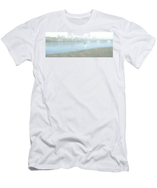 Ballerina On The Thames Men's T-Shirt (Athletic Fit)