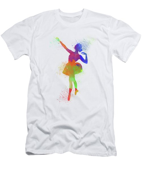 Ballet Watercolor 1 Men's T-Shirt (Athletic Fit)