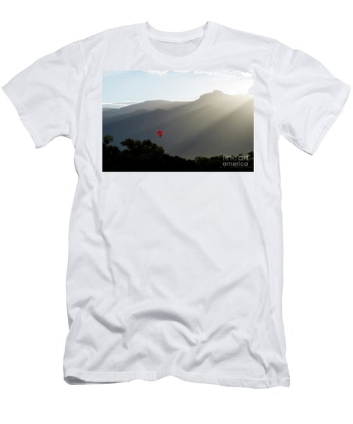 Balloon At Sunrise Men's T-Shirt (Athletic Fit)