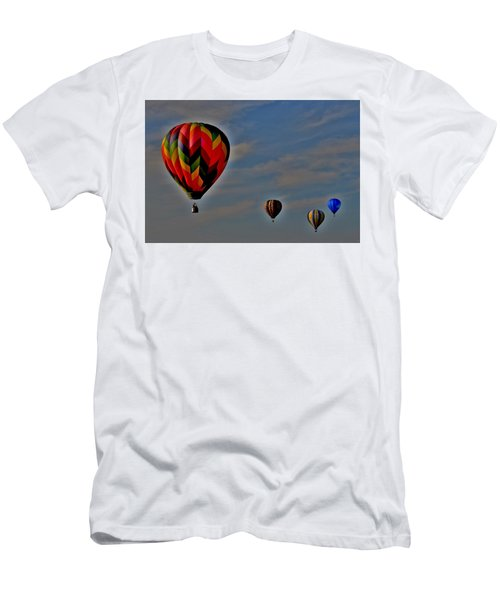Balloons In The Sky Men's T-Shirt (Athletic Fit)