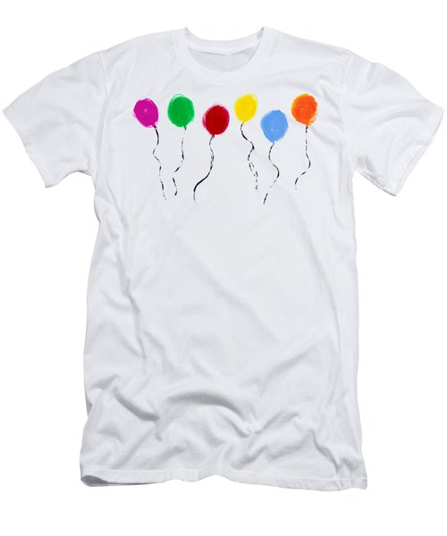 Balloons  Men's T-Shirt (Athletic Fit)