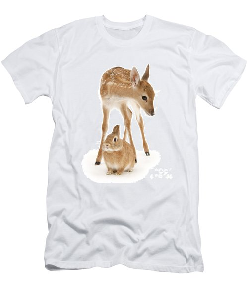 Bambi And Thumper Men's T-Shirt (Athletic Fit)