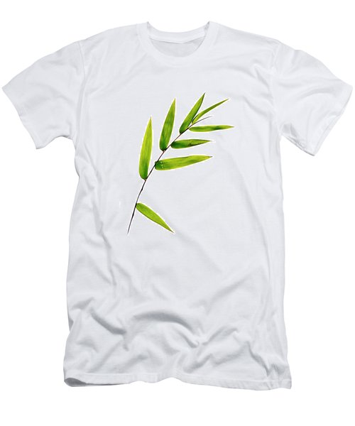 Bamboo Leaves Men's T-Shirt (Athletic Fit)