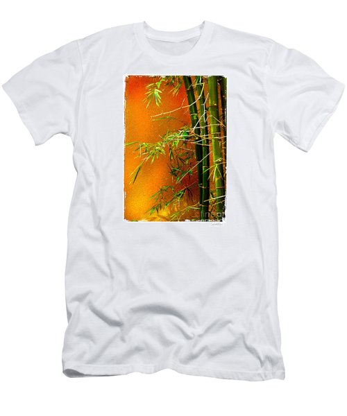 Bamboo Men's T-Shirt (Slim Fit) by Linda Olsen