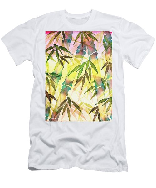 Bamboo Sunrise Men's T-Shirt (Athletic Fit)