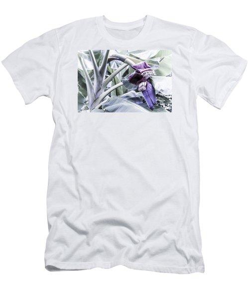 Banana Beginnings In Cool Shades Men's T-Shirt (Slim Fit) by Kerri Ligatich