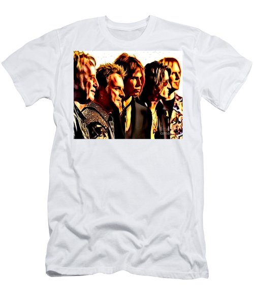 Band Who Men's T-Shirt (Athletic Fit)