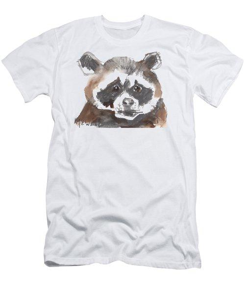 Bandit Raccoon Men's T-Shirt (Athletic Fit)