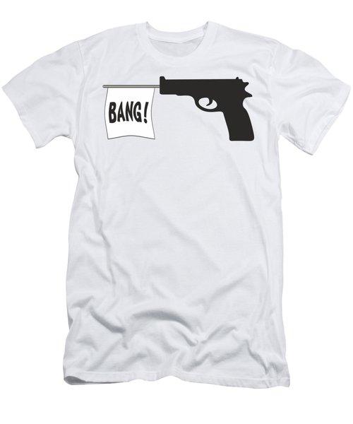 Bang Men's T-Shirt (Slim Fit) by Ericamaxine Price
