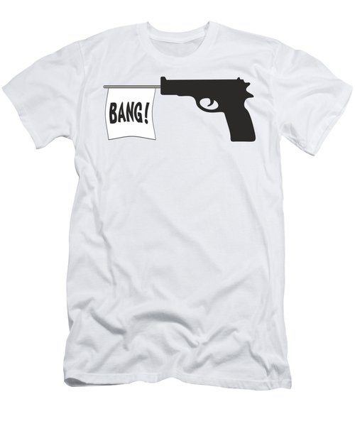Bang Men's T-Shirt (Athletic Fit)