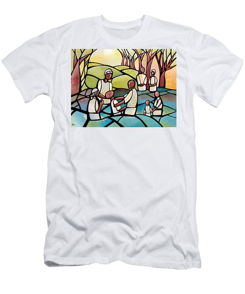 Baptism Men's T-Shirt (Athletic Fit)