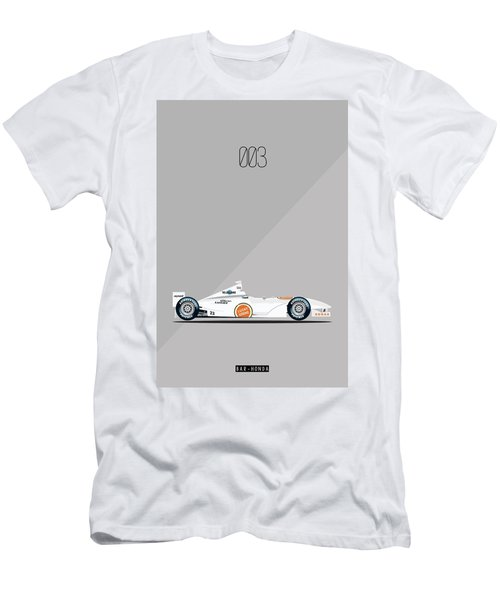 Bar Honda 003 F1 Poster Men's T-Shirt (Athletic Fit)