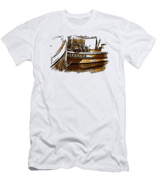 Barbara Earthy 3 Dimensional Men's T-Shirt (Athletic Fit)