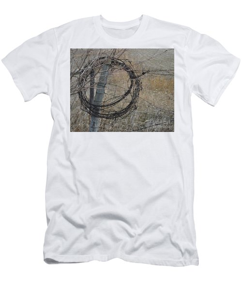Barbed Wire Men's T-Shirt (Athletic Fit)