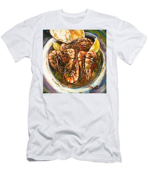 Barbequed Shrimp Men's T-Shirt (Athletic Fit)