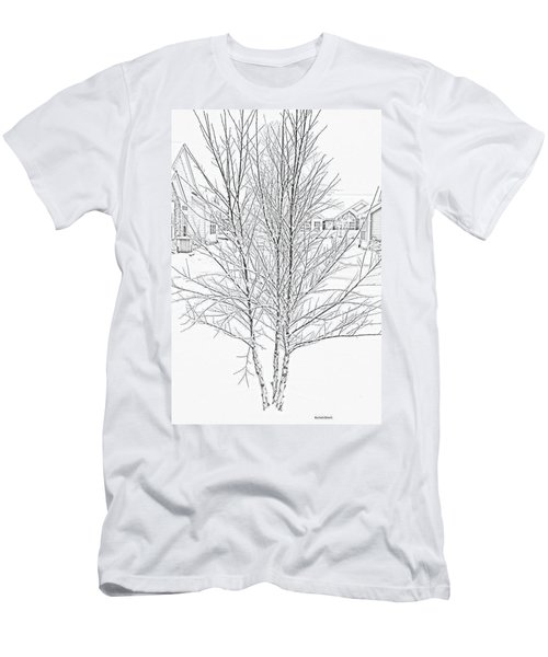 Bare Naked Tree Men's T-Shirt (Athletic Fit)