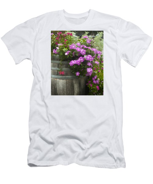 Barrel Of Flowers Men's T-Shirt (Athletic Fit)