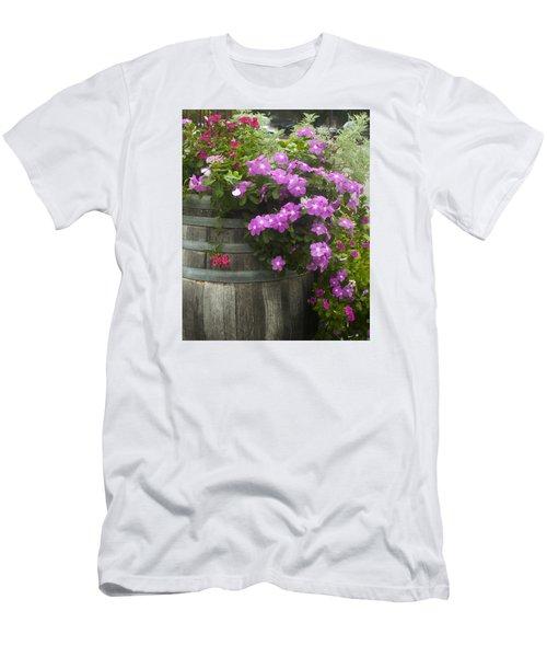 Barrel Of Flowers Men's T-Shirt (Athletic Fit)