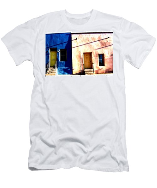 Men's T-Shirt (Athletic Fit) featuring the photograph Barrio Viejo 1 by Michelle Dallocchio
