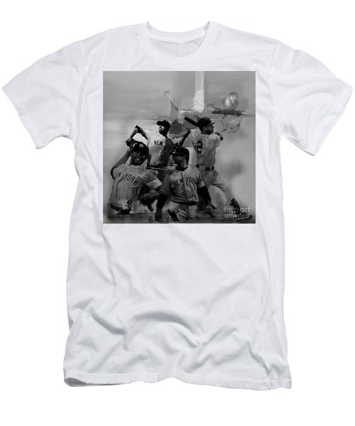 Base Ball Players Men's T-Shirt (Athletic Fit)
