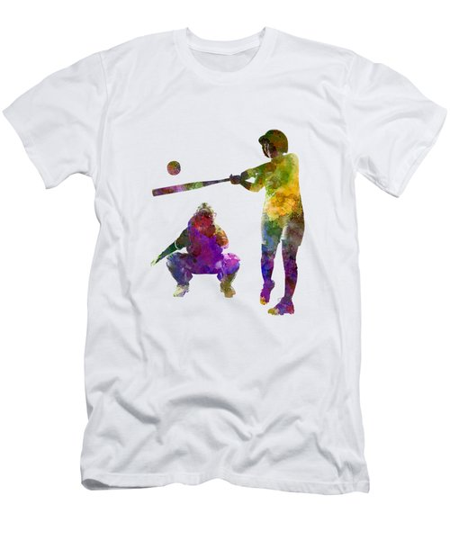 Baseball Players 02 Men's T-Shirt (Athletic Fit)