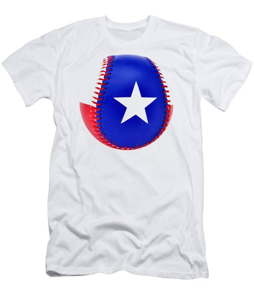 Baseball Star Men's T-Shirt (Athletic Fit)