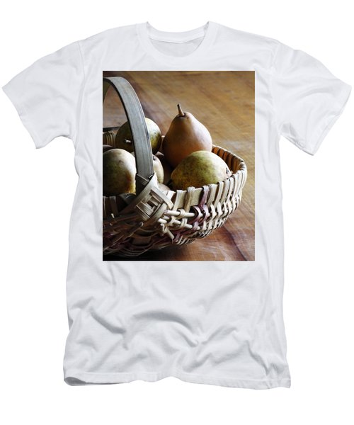 Basket And Pears Men's T-Shirt (Athletic Fit)