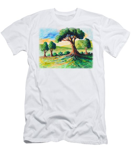 Basking In The Sun Men's T-Shirt (Athletic Fit)