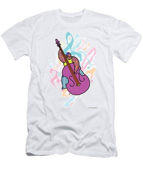 Bass Men's T-Shirt (Athletic Fit)