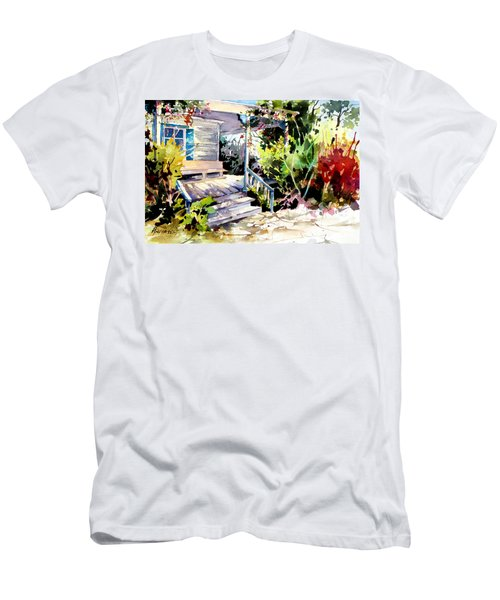Bastrop Welcome Men's T-Shirt (Slim Fit) by Rae Andrews