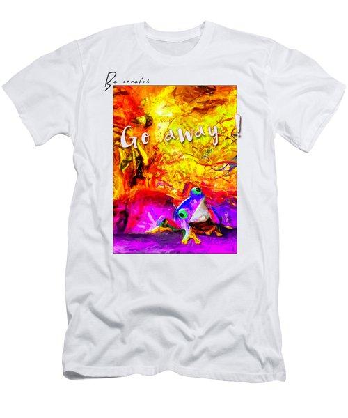 Be Careful Men's T-Shirt (Athletic Fit)