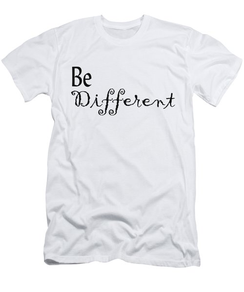Be Different Men's T-Shirt (Athletic Fit)
