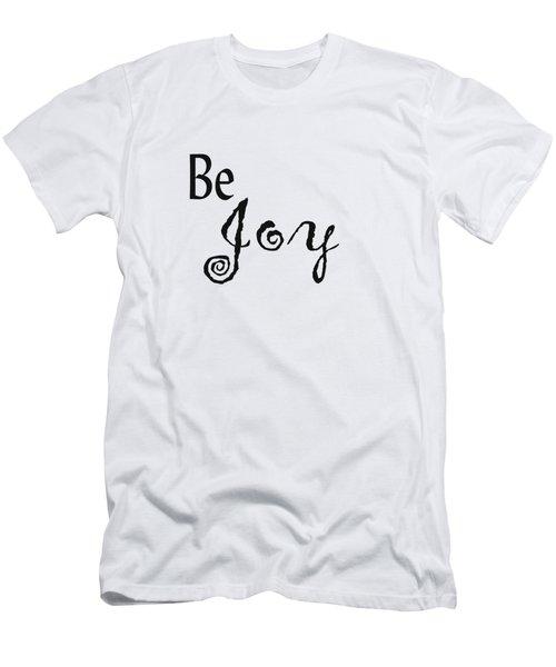 Be Joy Men's T-Shirt (Athletic Fit)
