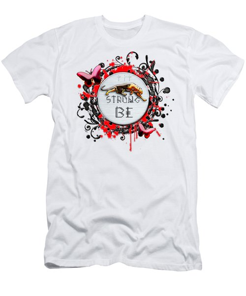 Be Strong Men's T-Shirt (Athletic Fit)