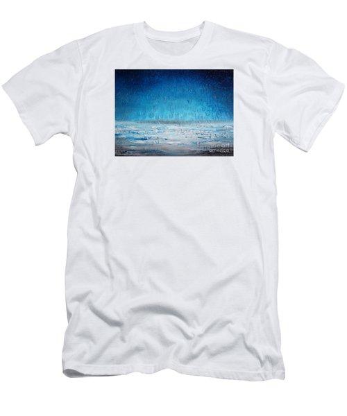 Beach Blue Men's T-Shirt (Athletic Fit)