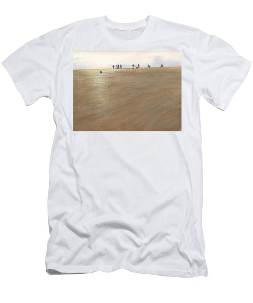 Beach Bocce Bikes Men's T-Shirt (Athletic Fit)