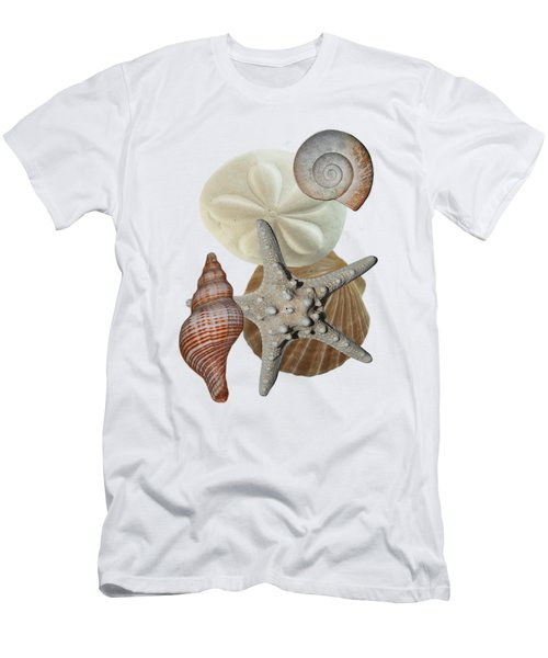 Men's T-Shirt (Athletic Fit) featuring the photograph Beach Bounty by Judy Hall-Folde