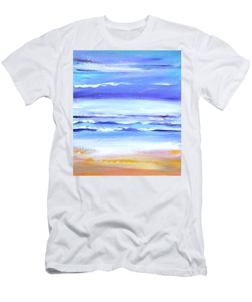 Beach Dawn Men's T-Shirt (Slim Fit) by Winsome Gunning