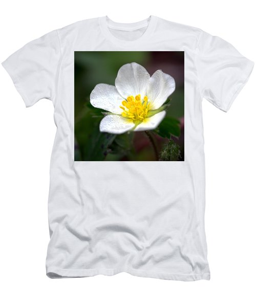 Beach Flower Men's T-Shirt (Athletic Fit)