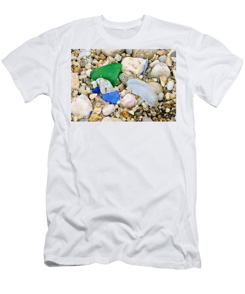 Beach Glass Men's T-Shirt (Athletic Fit)