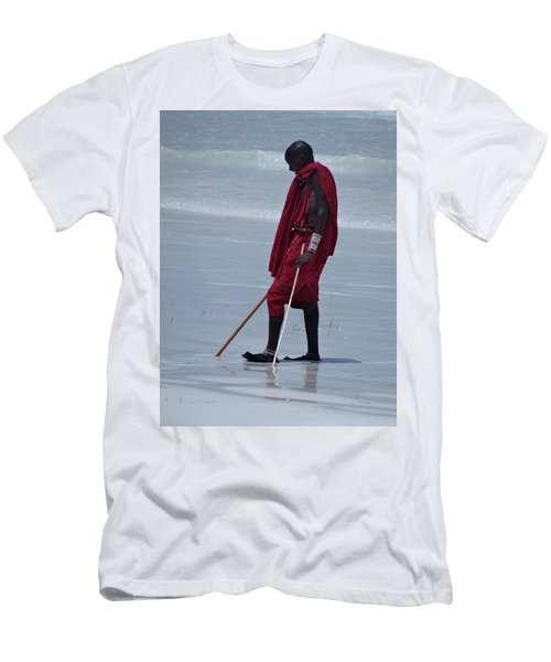 Beach Maasai Men's T-Shirt (Athletic Fit)