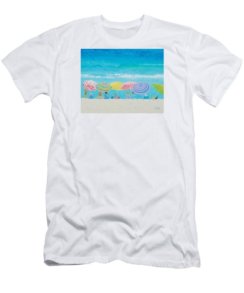 Beach Painting - Color Of Summer Men's T-Shirt (Athletic Fit)