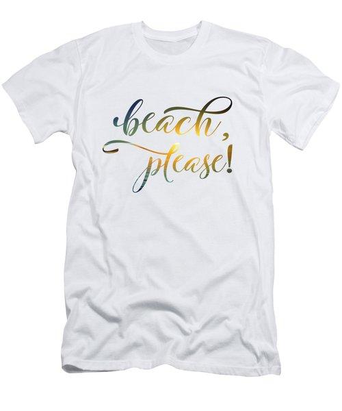 Beach Please Men's T-Shirt (Athletic Fit)